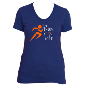Run For Your Life Ladies Tee